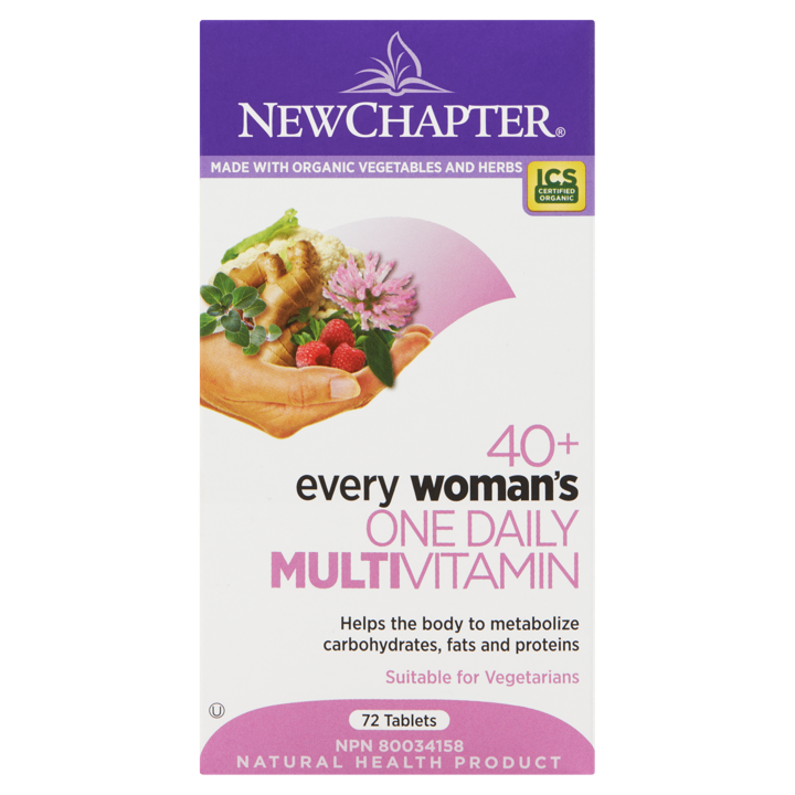 40+ Every Woman's One Daily Multivitamin - 72 tablets