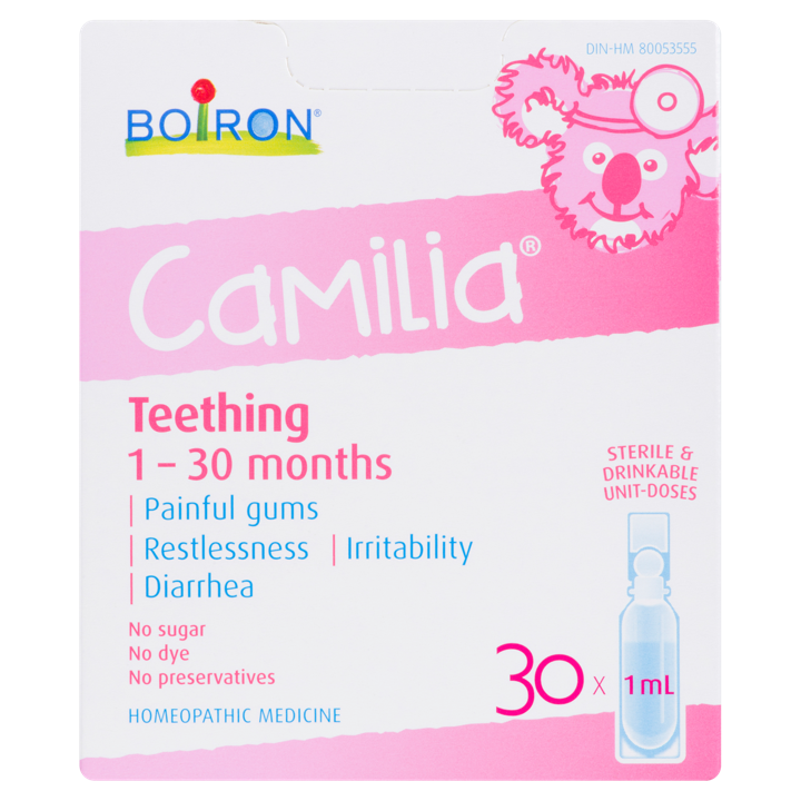 Camilia Teething 1-30 Months - 30 x 1 ml