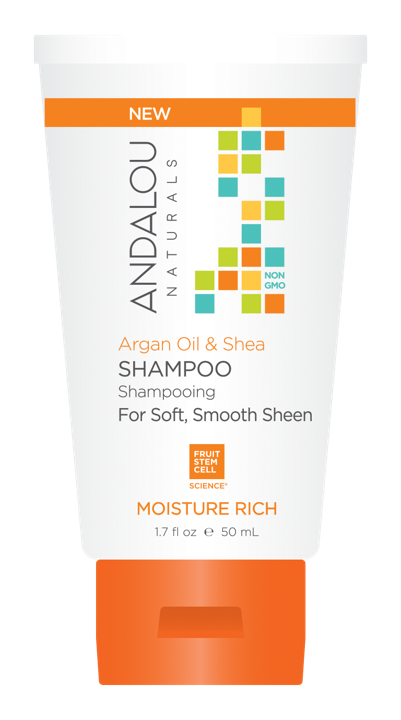 Argan Oil & Shea Moisture Rich Shampoo - 50 ml