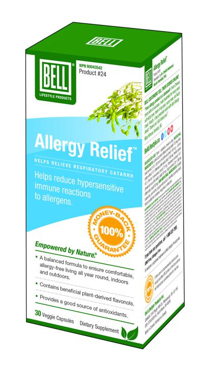 #24 Allergy Relief - 30 capsules