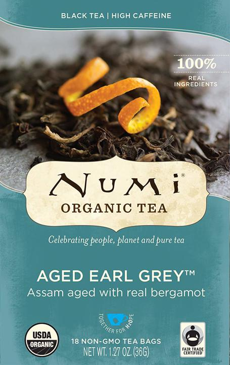 Black Tea - Aged Earl Grey - 18 count