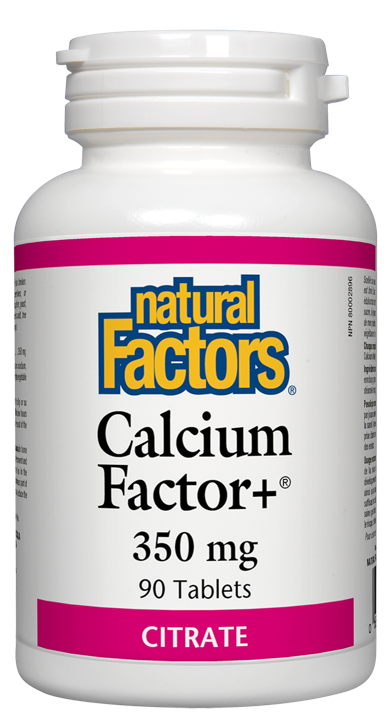 Calcium Factor+ - 350 mg - 90 tablets